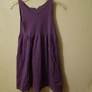 2 Purple H&M dresses in a size 6